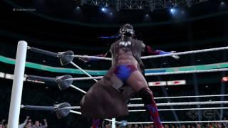 getlinkyoutube.com-WWE 2K17 - Finn Balor's Full Ring Entrance