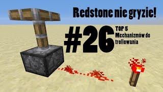getlinkyoutube.com-[Redstone Nie Gryzie! #26] TOP5 Mechanizmów do trollowania!