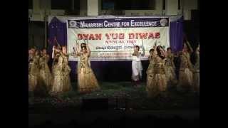 dance steps on chand aaye hai