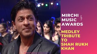 getlinkyoutube.com-Romantic medley tribute to Shahrukh Khan by Bollywood Singers | Mirchi Music Awards
