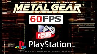 getlinkyoutube.com-Metal Gear Solid PS1/ PSX Widescreen @ 60fps PCSXR-PGXP (MGS, 1998)