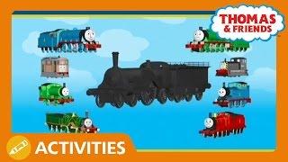 getlinkyoutube.com-Who's Under The Coal Dust? Play Along | Thomas & Friends