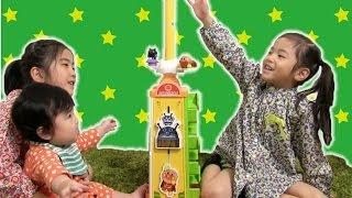 getlinkyoutube.com-アンパンマン 大きなよくばりタワー anpanman
