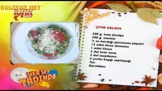 Çıtır Salata canlı yapılışı izle