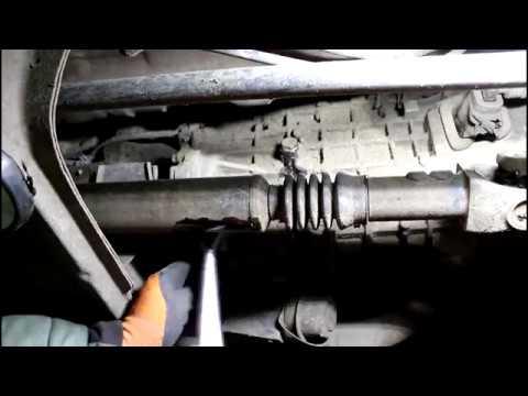 Замена масла в коробке передач на Ford Ranger 2,5 TURBO Форд Рейнджер 2007 года