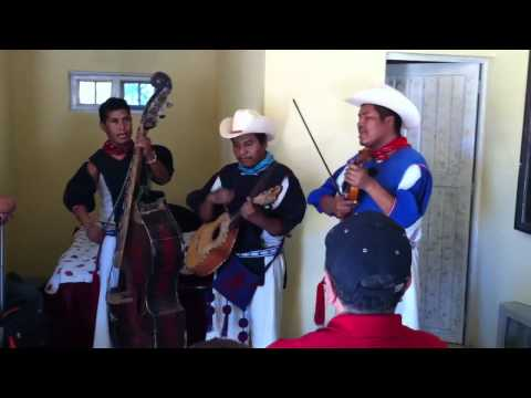 Los Huicholes Tocando A Los Alegres Del Barranco