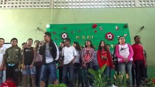 getlinkyoutube.com-Festa Dia das Mães Escola Padre Giuseppe - Valeu Amigo - Mc De Menor e Zé Pekeno