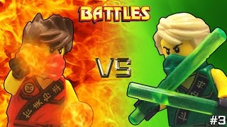 getlinkyoutube.com-Lego Ninjago: Kai vs Lloyd (Tournament)