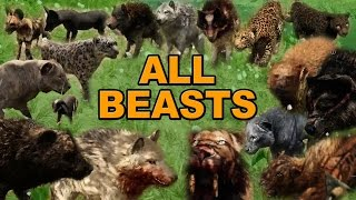 getlinkyoutube.com-Far Cry Primal - Beast Master Guide - All Animal Locations and How to Tame and Use Your Pet Beasts
