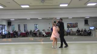 Ann and Brandon Dirty Dancing Spotlight June 11, 2016