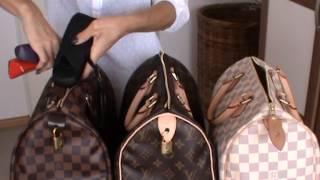 getlinkyoutube.com-Louis Vuitton Speedy 30 comparison review