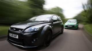 getlinkyoutube.com-Ford Focus RS500 vs Renault Clio Cup