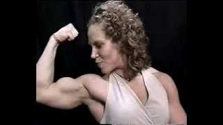 getlinkyoutube.com-Female Bodybuilder Big Biceps