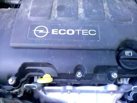 Запуск двигателя Opel Astra 1.4 t(1)