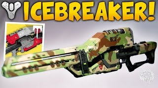 getlinkyoutube.com-Destiny: I LOVE THIS SNIPER! Icebreaker Year 3 Gameplay & New Ornaments (Rise of Iron)