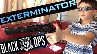 getlinkyoutube.com-Robert-Andre's Black Ops Exterminator CO2 BB Revolver!