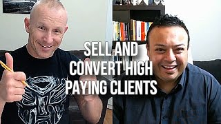 GQ 221: Sell And Convert High Paying Clients with Mero Samuel