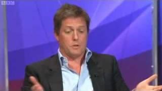 getlinkyoutube.com-Question Time - Hugh Grant & Jon Gaunt Row - 'Keep It In Your Trousers' [07.07.2011]