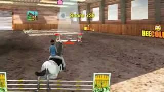 getlinkyoutube.com-Horse Jumping 3D gameplay