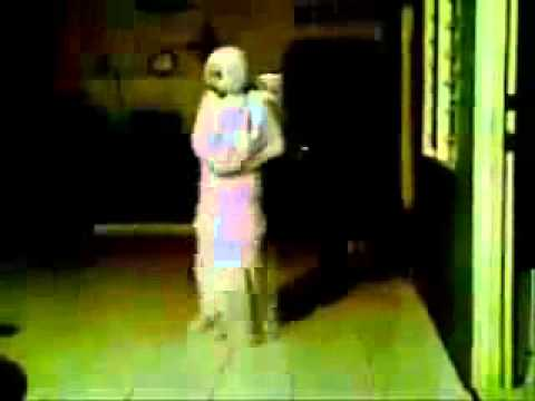 Funny pocong in the house