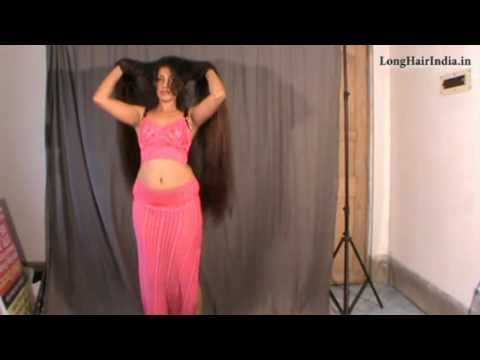 Almost Knee Length Romantic Long Hair Play