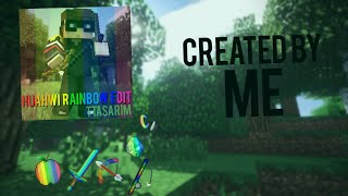 "getlinkyoutube.com-♥ Minecraft PvP Texture Pack ""Huahwi Rainbow Edit"" !Created by me! (1.8) ♥"