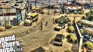 getlinkyoutube.com-Military Depot - GTA 5 PC MOD