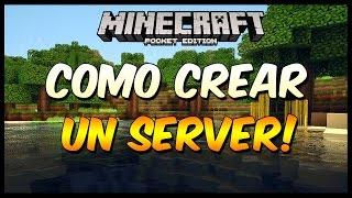 getlinkyoutube.com-Como Crear Un Server y Jugar Online En Minecraft Pocket Edition 0.13.0 | Permanente
