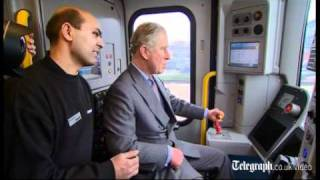 getlinkyoutube.com-Prince Charles drives a tube train