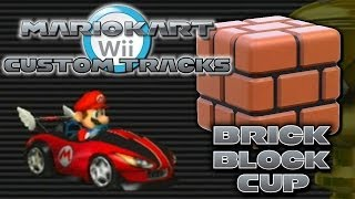getlinkyoutube.com-Mario Kart Wii Custom Tracks - Brick Block Cup