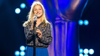 getlinkyoutube.com-Ella – '9 Crimes' | Blind Audition | The Voice Kids | VTM