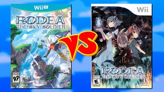 Comparison: Rodea the Sky Soldier (Wii vs. Wii U)