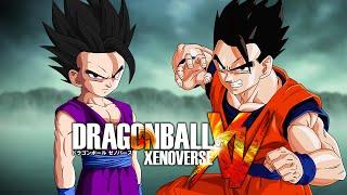 getlinkyoutube.com-Mystic Teen Gohan VS Mystic Gohan | Dragon Ball Xenoverse MODS (Duels)