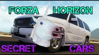 getlinkyoutube.com-Forza Horizon - SECRET TRAFFIC CARS Mod & Unicorns!