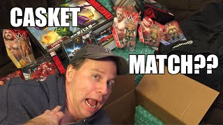 getlinkyoutube.com-CASKET MATCH UNBOXING! WWE Superstars Series 59 Wrestling Figures, New Day T-shirt AND MORE!