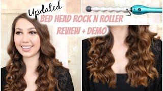 getlinkyoutube.com-UPDATED Bed Head Rock N Roller Bubble Curling Iron Wand - Review & Tutorial