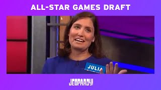 All-Star Games: Live Draft Recap | JEOPARDY! width=