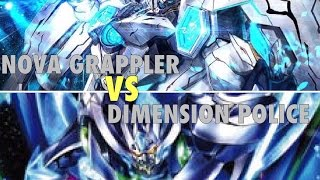 getlinkyoutube.com-[Battle] Cardfight!! Vanguard: Dimension Police (Dimensional Robo) vs Nova Grappler (Beast Deity)