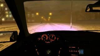 getlinkyoutube.com-City Car Driving 1.3.0 - Отжиг на BMW или как я попал в аварию на льду