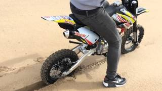 getlinkyoutube.com-Pitbike m2r racing 140 cc