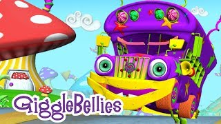 getlinkyoutube.com-The Wheels On The Bus | Nursery Rhymes | GiggleBellies