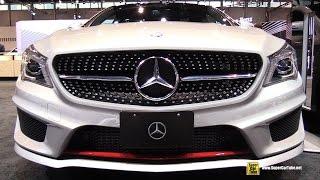 getlinkyoutube.com-2015 Mercedes Benz CLA Class CLA 250 Sport - Exterior,Interior Walkaround - 2015 Chicago Auto Show