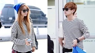 getlinkyoutube.com-BTS Taehyung (V) & T-ARA Jiyeon [ Vyeon couple ]