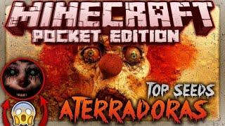 getlinkyoutube.com-Top Semillas Más Aterradoras & Épicas Para Minecraft PE 1.0.2 | La Semilla Maldita de Minecraft PE