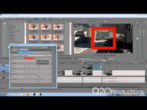 Sony Vegas Pro 11: Call of Duty Montage Target Lock-On Effect