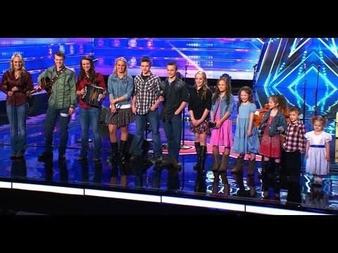 12-osobowe Rodzeństwo w Amerykańskim Mam Talent [NAPISY PL]