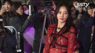 [SSTV] '대종상영화제' 한세아 팬티 노출 사고, 온몸을 밧줄로? 섹시를 넘은 '충격적 패션'