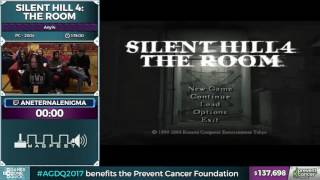 Silent Hill 4: The Room by aneternalenigma in 1:11:21 - AGDQ 2017 - Part 12
