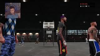 getlinkyoutube.com-NBA 2K 16| Shooting from DEEEPPPP!  7 consecutive 3's!!! FaceCam - Prettyboyfredo
