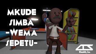 Mkude simba - Wema Sepetu | Tanzanian comedy Animation